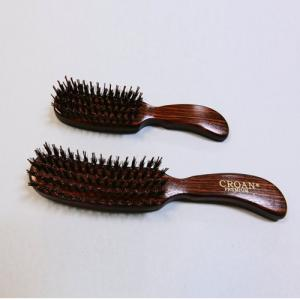 Professional Hair Brush Nylon Styling Pins, Hair Salon Brush, Wooden Handle Hair Brush