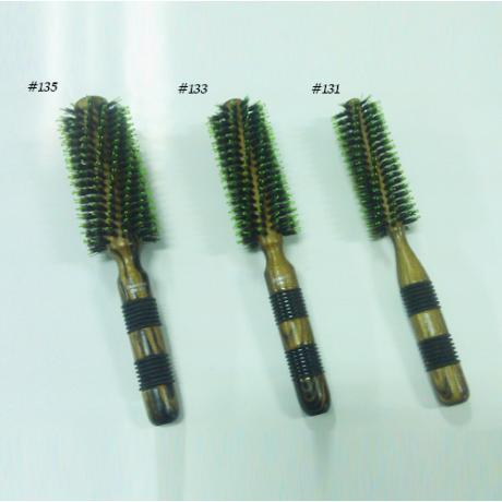 Professional Hair Brush Nylon Pin, Wooden Handle Hair Brush, Hair Salon Brush